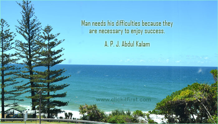 Famous Quote of A.P.J Abdul Kalam