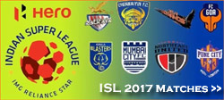 ISL 2017 Live Updates