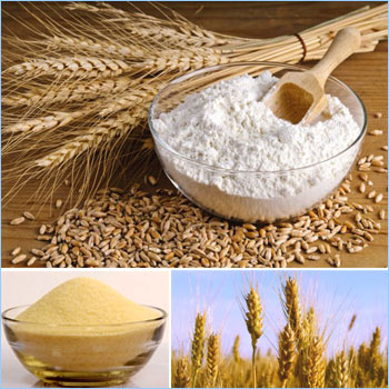 Difference between whole wheat, durum wheat, maida and